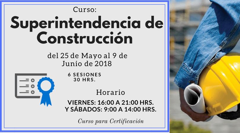 Superintendencia de Construcción @ Sede: CICEM Toluca